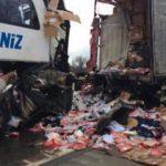 Çankırı'da otobüs TIR'a çarptı: 31 yaralı