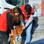 Öğrencilerden sokak ve yaban hayvanlarına şefkat eli