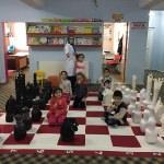 Atık malzemeden satranç takımı