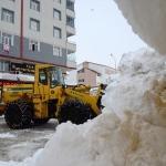 Bir haftada 600 kamyon kar