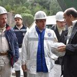TTK Genel Müdürü Eroğlu'ndan Amasra'da inceleme
