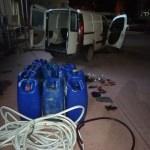 Manisa'da mazot hırsızlığı