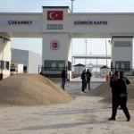 Kilis Çobanbey Sınır Kapısı ticari geçişlere kapatıldı