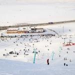 Bitlisliler kayak merkezine akın etti