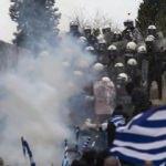 Yunanistan'da 'Makedonya' protestosu!