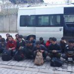 Van'da 32 düzensiz göçmen yakalandı
