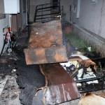 Muğla'da evde çıkan yangında bir çocuk yaralandı