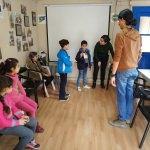 Üniversiteli gönüllüler, Suriyeli çocukları oyunlarla eğitiyor