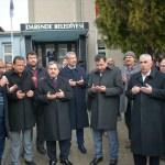 Tüfenkci'den Başkan Eser'e taziye ziyareti