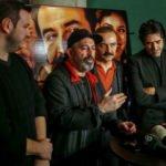 Yılmaz Erdoğan'ın film galasında Cem Yılmaz ve Şahan Gökbakar!