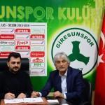 Giresunspor, Kemal Kılıç ile sözleşme imzaladı