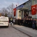GÜNCELLEME - Şehit polis memuru için tören düzenlendi