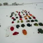 Dağcıların Muş'ta kış eğitimi kampı
