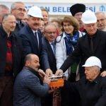 Merzifon'da Çerkez Kültürevi temel atma töreni