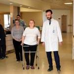 Moldovalı kadın Kırıkkale'de sağlığına kavuştu