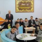 Vali Çağatay'dan okul ziyareti