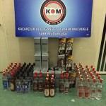 Bolu'da kaçak içki operasyonu