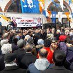 AK Parti Gürpınar'da seçim bürosu açtı