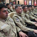 Elazığ'da, 111 bekçi göreve başladı