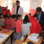 Bismil'de 500 öğrenciye yardım