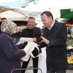 Tokat'ta Sıfır Atık Projesi kapsamında bez çanta dağıtıldı