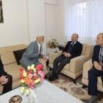 Amasya Valisi Varol'dan şehit ailesine ziyaret