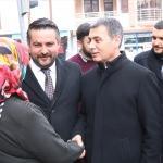 MHP Gölbaşı Belediye Başkan adayı Şimşek'ten esnaf ziyareti