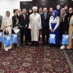 İslamiyet'i kabul eden Amerikalı Müslümanlardan Diyanet'e ziyaret