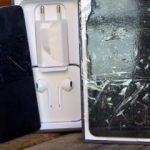 Metal parçasını kesip cep telefonu diye sattı