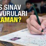 ÖSYM KPSS memur sınavı başvuruları ne zaman başlıyor?