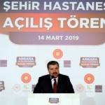 Fahrettin Koca: Şehir hastanesi tüm dünyanın bildiği marka olacak