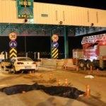 Gişelerde feci kaza! 2 kişi öldü