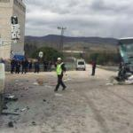 Amasya'da feci kaza! Çok sayıda yaralı var