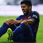 Barcelona'ya Suarez'den kötü haber!