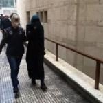 Bursa'da yakalanan DEAŞ'lı kadın terörist İnterpol'e teslim edildi