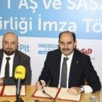PTT AŞ ve SaSaD'tan e-dönüşüm iş birliği