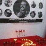 Öldürülen terörist için HDP binasında anma töreni düzenlendi