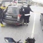 Dolmabahçe'de tepki çeken görüntü
