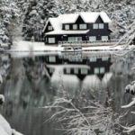 Abant'ta kar sürprizi! Beyaza büründü