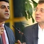 Mazbatayı alan Ekrem İmamoğlu'ndan skandal Selahattin Demirtaş çıkışı