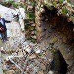 Duvar yıkılınca ortaya çıktı! Yoldan geçen turist fark etti