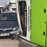 D-100 Karayolu'nda feci kaza! 6 araç birbirine girdi