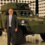 Türkiye'nin ilk elektrikli zırhlı aracı