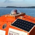 72'lik çılgın dede fıçıyla koca okyanusu geçti