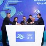 """Borsa İstanbul'da Gong """"Turkcell'in 25. Yılı"""" için çaldı"""