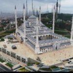 Çamlıca Camii havadan böyle görüntülendi