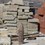 İzmir'de inşaattaki çalışma sırasında top mermisi buldu