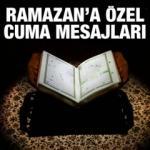 Ramazan ayına özel resimli cuma mesajları! 2019 en anlamlı cuma sözleri