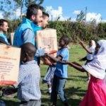 Türkiye Diyanet Vakfı'nın yardımları Kenya'da yüzleri güldürdü