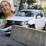 29 yıllık eşini öldürüp karakola aracıyla daldı!